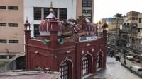 Kubah Masjid Bersejarah di India Hancur Tersambar Petir