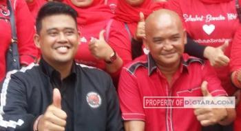 DPC PDIP Medan Ingin Robi Barus Jadi Wakilnya Bobby