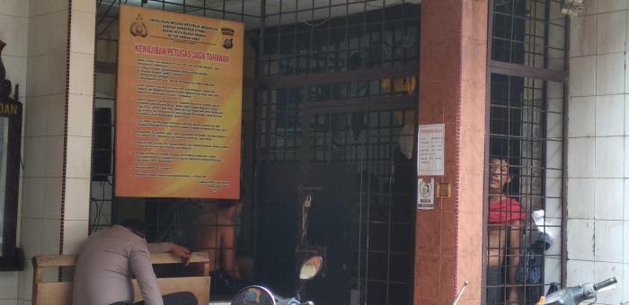 Delapan Tahanan Polsek Medan Area Kabur
