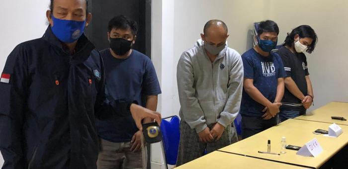 Lima Orang Mengaku Pegawai BNN Dibekuk BNN, Ini Sebabnya