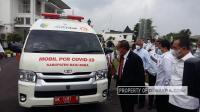 Gubsu Edy Rahmayadi Lepas Mobil PCR Milik Pemkab Batubara