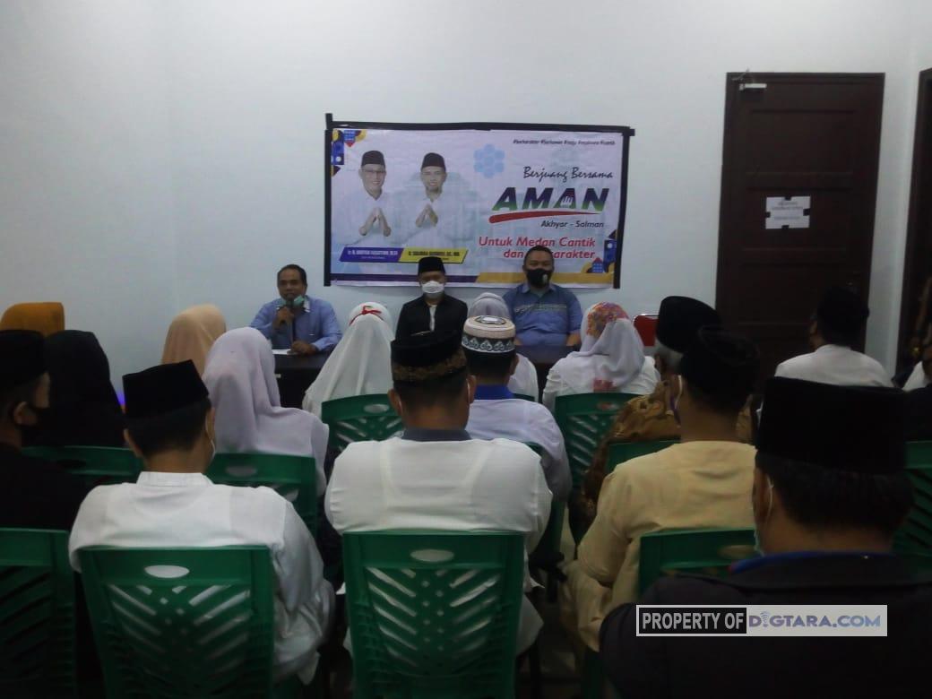 Hari Pertama Kampanye, Salman Terima Perwakilan Tokoh Agama