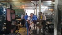 Diduga Korsleting Listrik, Pabrik Ban di Namo Rambe Hangus Terbakar
