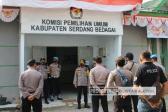 Amankan Pendaftaran Pilkada, Polres Sergai Siagakan 5 Pos Menuju Kantor KPUD