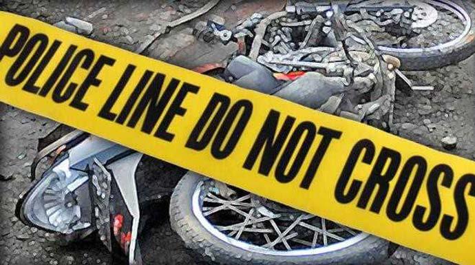 Bonceng Tiga Putus Rantai, Dua Penegndara Sepeda Motor Meninggal, Satu Sekarat