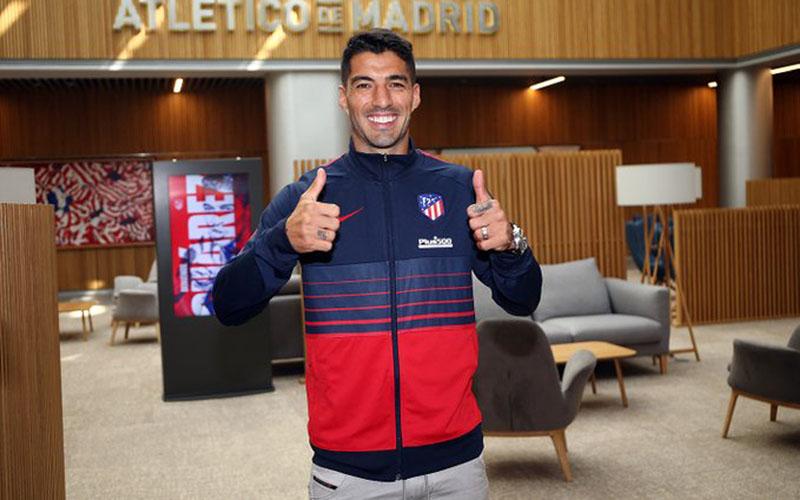Luis Suarez Teken Kontrak 2 Tahun Bersama Atletico Madrid