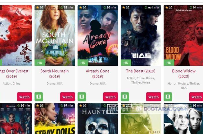 Link Nonton dan Download Film Terbaru Kualitas Tinggi Subtitle Indonesia Pengganti Ganool Movie 2020