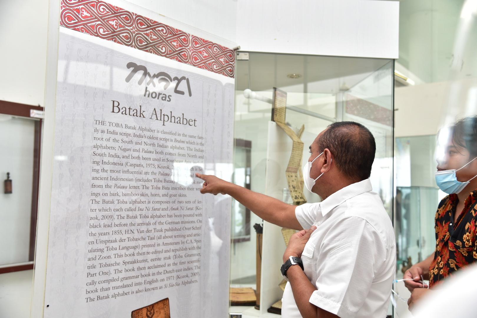Tinjau Museum TB Silalahi, Gubernur Sumut Sebut Standar Pariwisata Terdapat Bukti dan Cerita