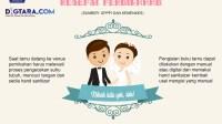 Infografis: Protokol Kesehatan dalam Resepsi Pernikahan