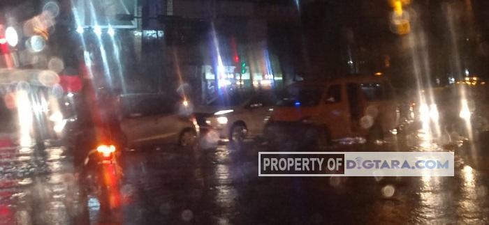 Hujan Deras, Sejumlah Ruas Jalan di Medan Tergenang