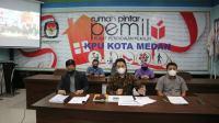 KPU Medan Ingatkan Cawalkot Patuhi Aturan Dana Kampanye
