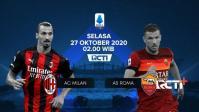 Jadwal Liga Italia Malam Ini: AC Milan Vs AS Roma
