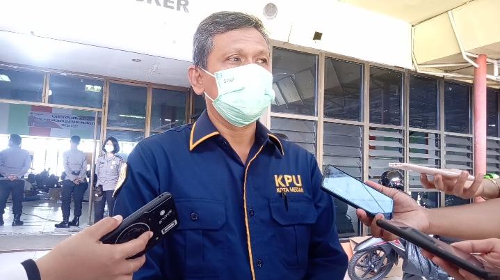 KPU Medan Mulai Lakukan Pelipatan Surat Hingga 21 November