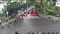 Minggu Pagi, Arus Lalin Sejumlah Ruas Jalan di Medan Lengang