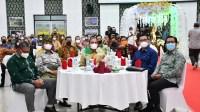 Malam Lepas-Sambut Pangdam I/BB , Gubernur Pakaikan Adat Melayu Deli ke Pangdam I/BB