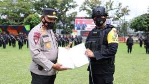 Kapolda Lepas 200 Personel Brimob Polda Sumut BKO ke Polda Metro Jaya