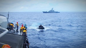 TNI AL Gelar Patroli Terkoordinasi dengan AL India
