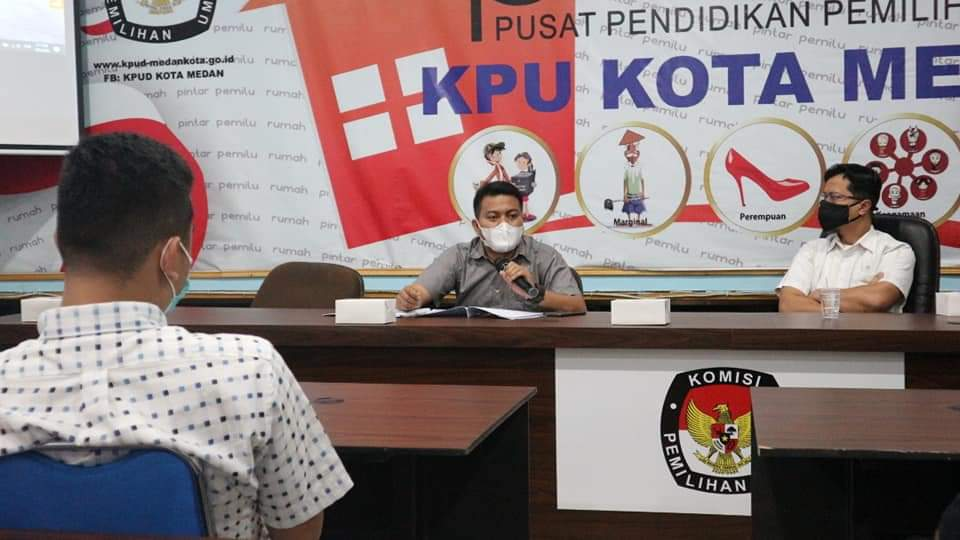 BPRK Belum Terbit, KPU Medan Belum Bisa Tetapkan Pemenang Pilkada