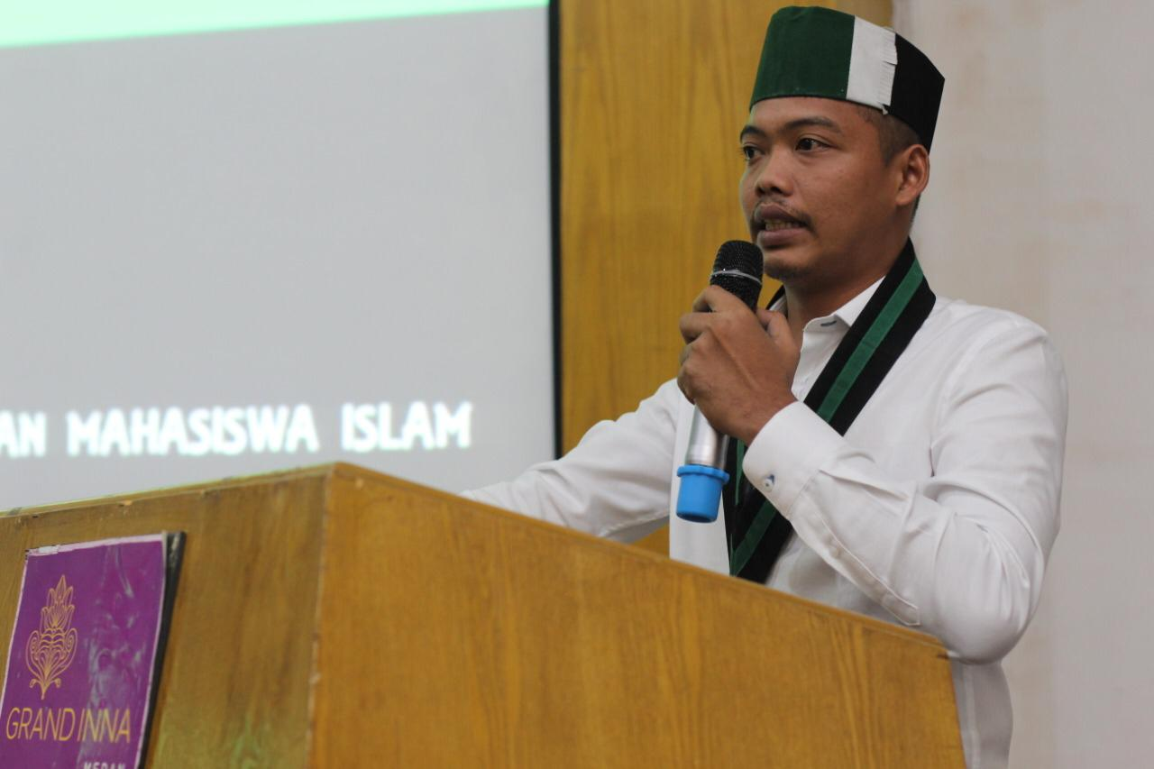 Ketua Umum Badko HMI Sumut, M Alwi Hasbi Silalahi.