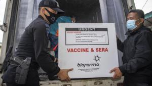 Jumat Pagi, 34.840 Vial Vaksin Covid-19 Tiba di Sumut