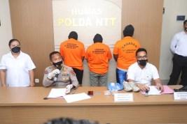 Tiga Kurir Narkoba Diringkus, Polda NTT Kejar Bandarnya Warga Medan