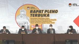 Sah! Bobby-Aulia Ditetapkan Sebagai Pasangan Walikota dan Wakil Walikota Medan