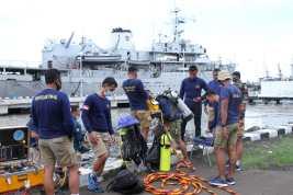 Tim Selam TNI AL Lanjutkan Pencarian, Fokus Cari CVR SJ 182