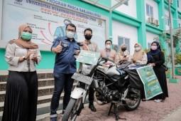 UMSU Launching Motor Relawan Perpustakaan