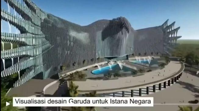 Norak! Komentar Netizen Terkait Desain Istana di Ibu Kota Negara Baru