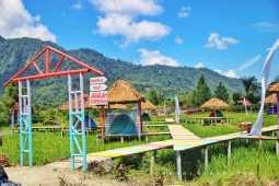 Areal Persawahan Disulap Jadi Tempat Wisata nan Indah dan Sejuk