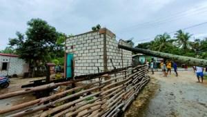 Disapu Angin Puting Beliung, Rumah Warga di NTT Rusak Tertimpa Pohon