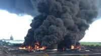 Kebakaran Kilang Pertamina di Balongan Berhasil Dipadamkan