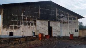 Gudang Penyimpanan Milik Pertamina di Aceh Tamiang Terbakar