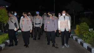 Kapolri Kunjungan ke Kupang-NTT, Tinjau Vaksinasi Covid-19 di Mapolda