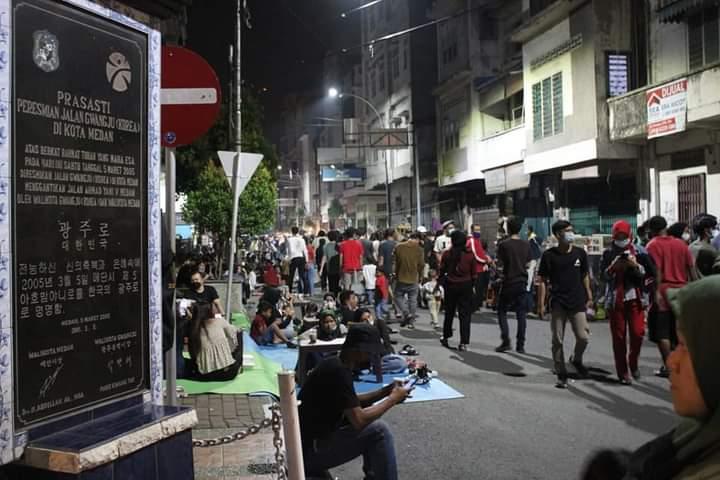 Banyak Pelanggaran Prokes di Kesawan City Walk, Begini Kata Wali Kota Medan