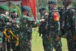 Pangdam I/BB Apresiasi Satgas Pamtas RI-PNG Yonif Raider 100/PS