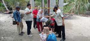 IPSM Bantu Korban Kebakaran di Kisaran Barat