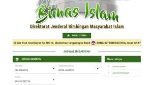 Jadwal Imsakiyah Ramadan 1442 Hijriah seluruh Indonesia Lihat di Sini