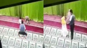 Terekam CCTV, Seorang Pria Diduga Lecehkan Anak Kecil yang sedang Salatdi Masjid