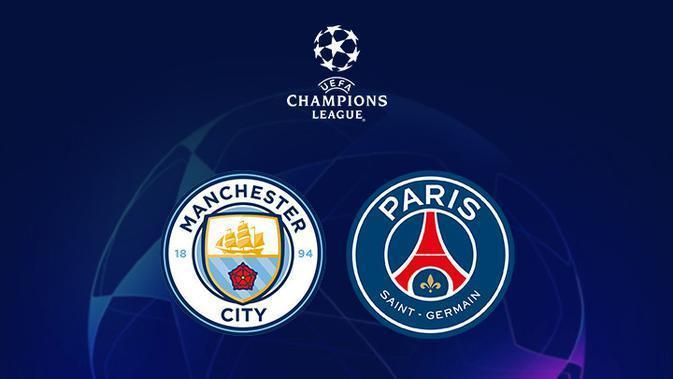Live di SCTV Liga Champions Malam Ini: Manchester City Vs PSG