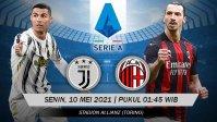 Link Live Streaming dan Jadwal Pertandingan Juventus vs AC Milan