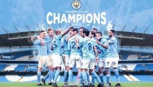 Manchester United Tumbang, Manchester City Sabet Gelar Juara Premier League