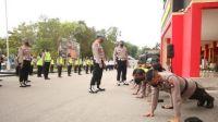 Polisi di Batam Terima Sanksi Gegara Jenggot dan Rambut Panjang