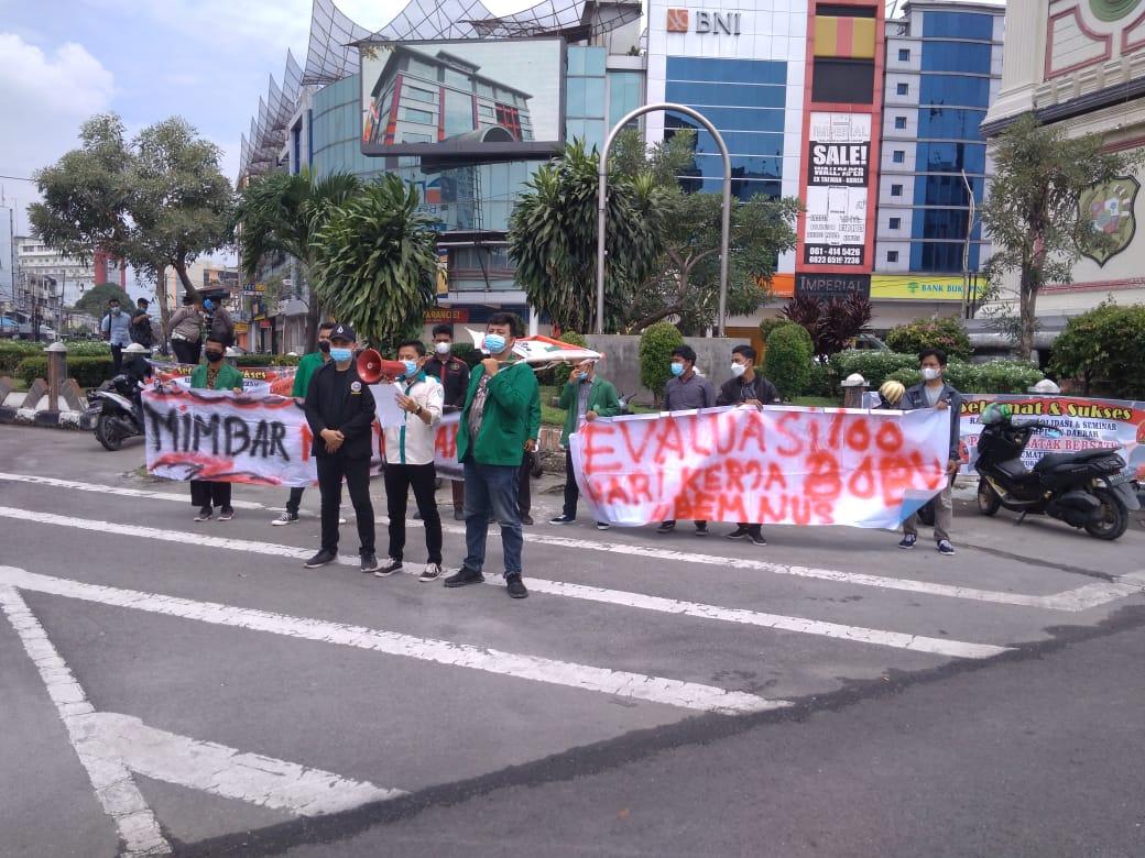 Demo 100 Hari Kerja Bobby, Mahasiswa Tuntut 3 Hal