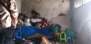 Rumah di Medan Maimun Terbakar, Diduga Korsleting Listrik dari Mesin Cuci