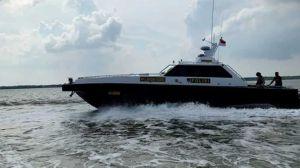 Mirip Film Laga, Polisi Kejar-kejaran dengan Kapal Penyelundup Narkoba Berbendera Malaysia