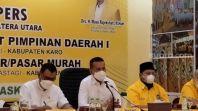 Golkar Sumut Mantap Dukung Airlangga Hartarto Maju Jadi Capres 2024