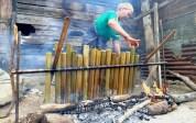 Mangalomang, Tradisi Yang Tetap Terjaga Jelang Lebaran di Padangsidimpuan