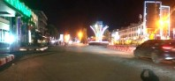 Malam Takbiran Idul Adha, Jalanan di Pusat Kota Padangsidimpuan Sepi