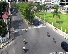 Usai Idul Adha, Jalan Kota Medan Lancar